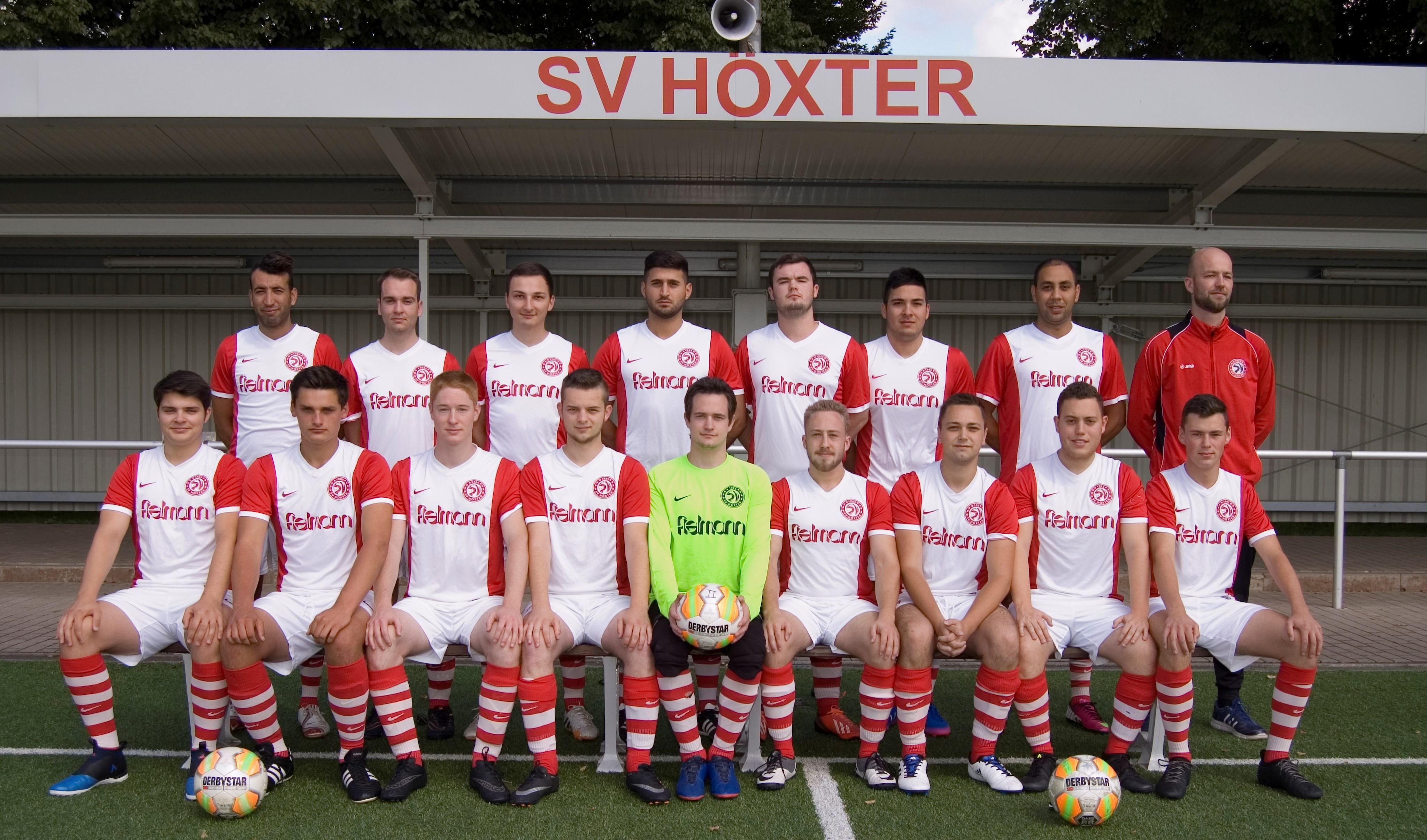 45747bb396e8b3 Die Zweite Mannschaft des SV Höxter